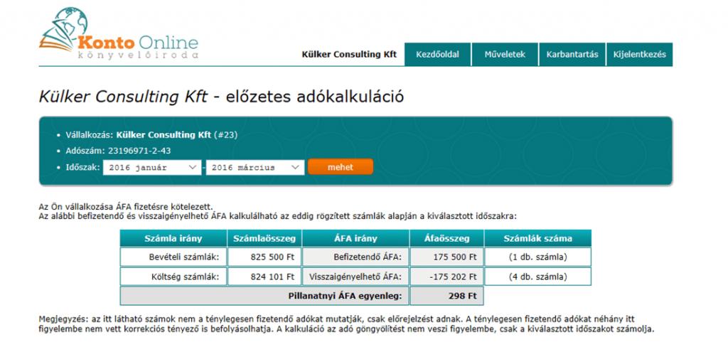 Könyvelés Budapest - Konto Online Könyvelőiroda