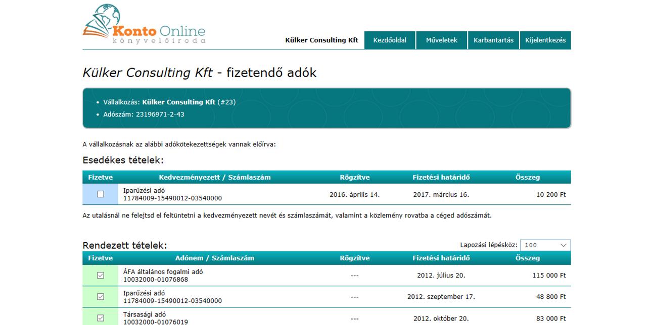 Könyvelés online - Konto Online Könyvelőiroda Budapest